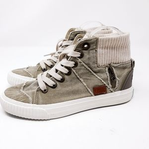 Blowfish High-top Lace-up Sneakers